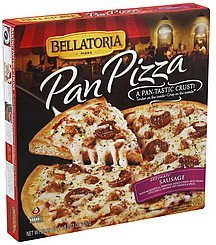 pizza pan, ultimate sausage Bellatoria Nutrition info