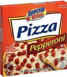 pizza pepperoni Special Value Nutrition info