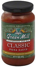 pizza sauce classic Green Mill Restaurant and Bar Nutrition info