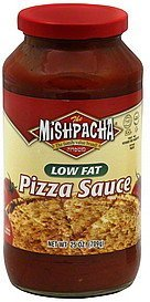 pizza sauce low fat Mishpacha Nutrition info