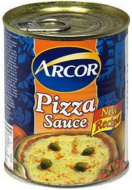 pizza sauce Arcor Nutrition info