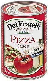 pizza sauce Dei Fratelli Nutrition info