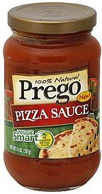 Prego Pizza sauce. Nutrition Facts