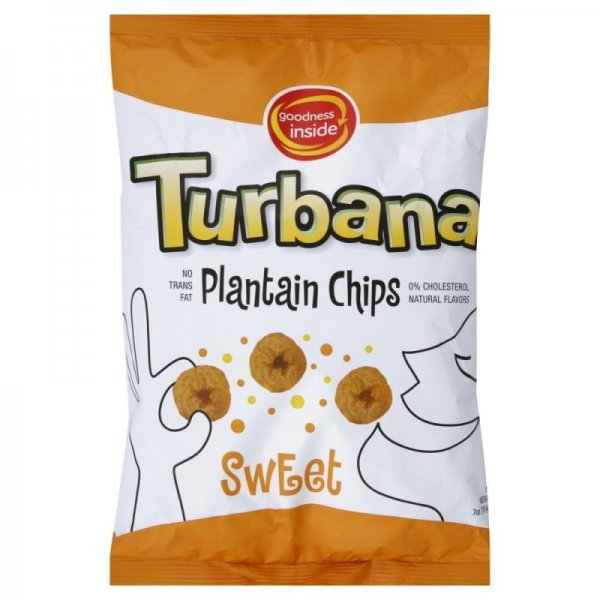 plantain chips sweet Turbana Nutrition info