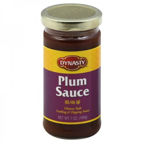 plum sauce all natural Sun Luck Nutrition info