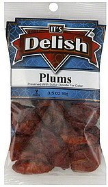 plums Its Delish Nutrition info
