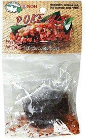 poke mix NOH Foods of Hawaii Nutrition info