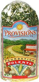 polenta foundation Provisions Nutrition info
