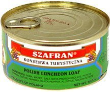 polish luncheon loaf Szafran Nutrition info