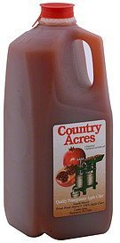 pomegranate apple cider quality Country Acres Nutrition info