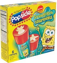 pop ups spongebob squarepants, strawberry & lemonade Popsicle Nutrition info