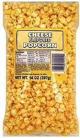 popcorn cheese flavored Poppees Popcorn Nutrition info