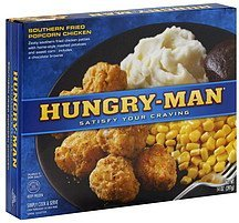 popcorn chicken southern fried Hungry-Man Nutrition info