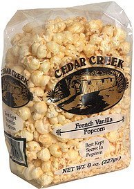 popcorn french vanilla Cedar Creek Nutrition info