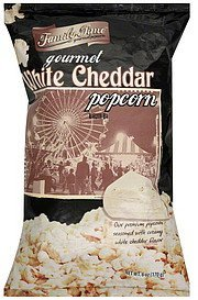 popcorn gourmet white cheddar Family Time Nutrition info