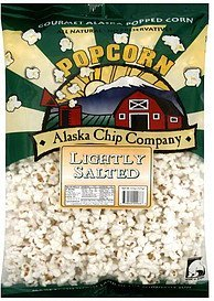 popcorn lightly salted Alaska Chip Company Nutrition info