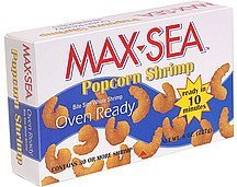 popcorn shrimp Max-Sea Nutrition info