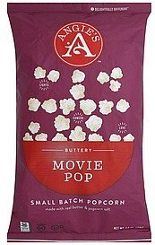 popcorn small batch, buttery movie pop Angies Nutrition info
