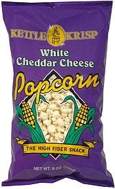 popcorn white cheddar cheese. Kettle Krisp Nutrition info