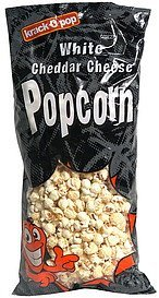 popcorn white cheddar cheese krack-O-pop Nutrition info