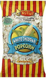 popcorn white cheddar Ricos Nutrition info