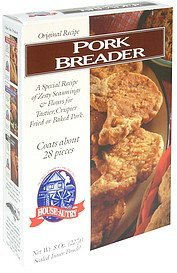pork breader House Autry Nutrition info