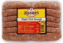 pork sausage maple Zenners Nutrition info