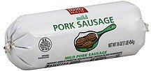 pork sausage mild Thrifty Maid Nutrition info