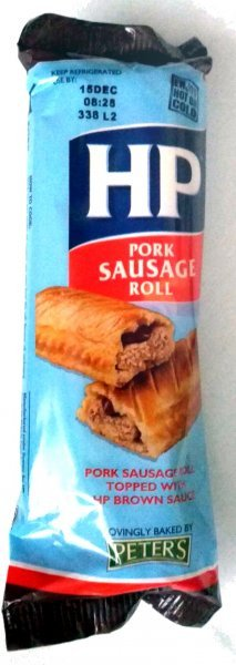 pork sausage roll Hp Nutrition info