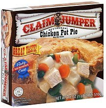 chicken pot pie Claim Jumper Nutrition info