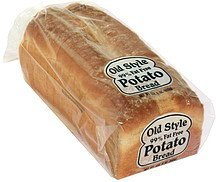 potato bread sliced Old Style Nutrition info