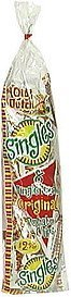 potato chips 8 single pack Old Dutch Nutrition info
