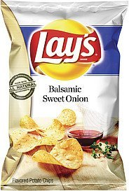potato chips balsamic sweet onion Lays Nutrition info