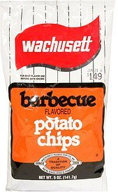 potato chips barbecue flavored Wachusett Nutrition info