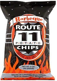 potato chips barbeque Route 11 Nutrition info