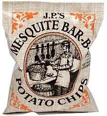 potato chips extra crunchy, kettle cooked, mesquite bar-b-q J.P.'S Nutrition info