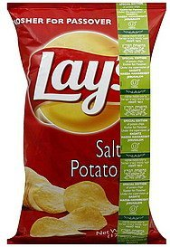 potato chips salted Lays Nutrition info