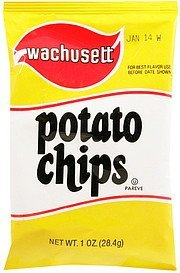 potato chips Wachusett Nutrition info