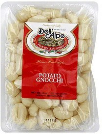 potato gnocchi Dell'Alpe Nutrition info