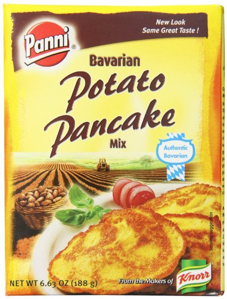 potato pancake mix bavarian Panni Nutrition info