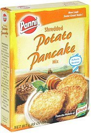potato pancake mix shredded Panni Nutrition info
