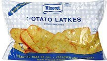 potato pancakes Kineret Nutrition info