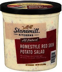 potato salad all natural homestyle red skin Stonemill Kitchens Nutrition info