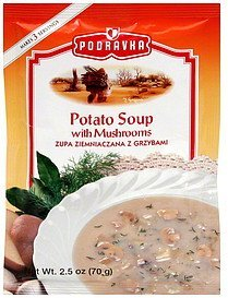 potato soup with mushrooms Podravka Nutrition info