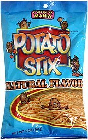 potato stix natural flavor Potato Mania Nutrition info