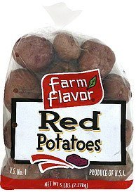 potatoes red Farm Flavor Nutrition info