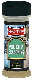 poultry seasoning Spice Time Nutrition info