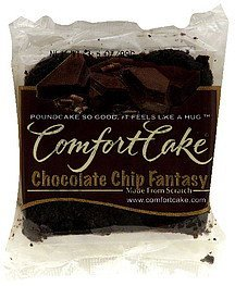 poundcake chocolate chip fantasy Comfort Cake Nutrition info