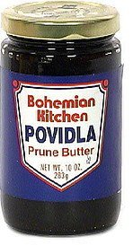 povidla prune butter Bohemian Kitchen Nutrition info