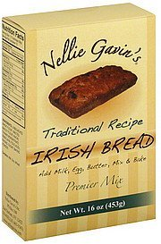 premier mix irish bread, traditional recipe Nellie Gavins Nutrition info